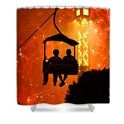 The Grand Finale Shower Curtain