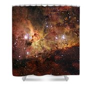 The Great Nebula In Carina Shower Curtain