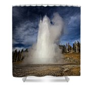 The Grand Rocket Shower Curtain