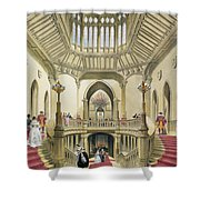 The Grand Staircase, Windsor Castle Shower Curtain