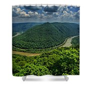 The Grand View Shower Curtain
