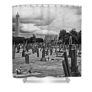 The Graves Shower Curtain