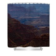 The Great Abyss Shower Curtain