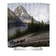 The Great Divide Shower Curtain