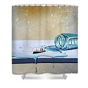 The Great Escape Shower Curtain by Cindy Thornton