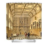 The Great Hall, Hatfield, Berkshire Shower Curtain