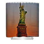 The Great Lady Shower Curtain