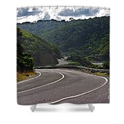 The Great Ocean Road Shower Curtain