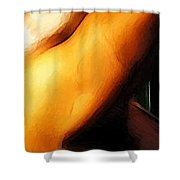 The Great Pretender 2 Shower Curtain