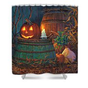The Great Pumpkin Shower Curtain