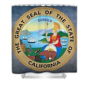 The Great Seal Of The State Of California Shower Curtain