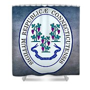 The Great Seal Of The State Of Connecticut Shower Curtain