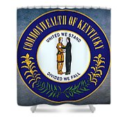 The Great Seal Of The State Of Kentucky  Shower Curtain