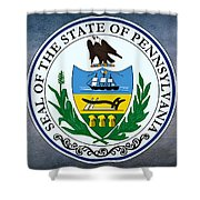 The Great Seal Of The State Of Pennsylvania  Shower Curtain