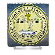 The Great Seal Of The State Of Tennessee Shower Curtain