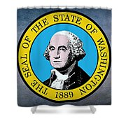 The Great Seal Of The State Of Washington Shower Curtain