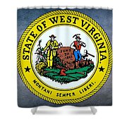 The Great Seal Of The State Of West Virginia Shower Curtain