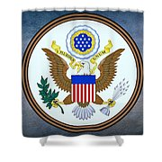 The Great Seal Of The United States  Shower Curtain