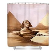 The Great Sphinx Shower Curtain