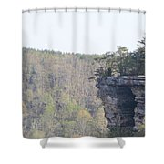 The Great Stone Door Grundy County Tennessee Shower Curtain