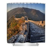 The Great Wall Of China Mutianyu China Shower Curtain