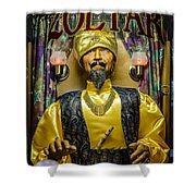 The Great Zoltar Shower Curtain