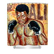 The Greatest Of All Time Shower Curtain