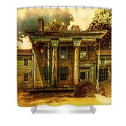 The Greek Revival That Needs Revival Shower Curtain