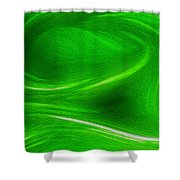 The Green Factor Shower Curtain