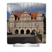 The Green Gate - Gdansk Shower Curtain