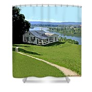 The Green Grass Of Home Shower Curtain
