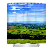 The Green Green Grass Of Home Shower Curtain
