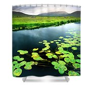 The Green Of Our Land Shower Curtain