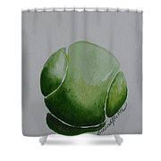 The Green One Shower Curtain