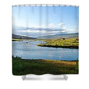 The Green River Shower Curtain