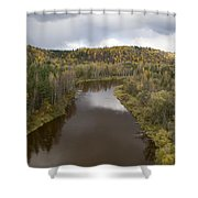 The Guaja River Shower Curtain