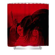 The Guests Arrive Shower Curtain