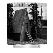 The Guide House At Paradise Shower Curtain
