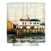 The Gun Public House Isle Of Dogs London Shower Curtain
