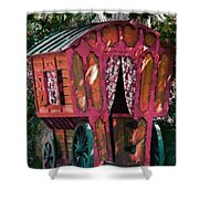 The Gypsy Caravan  Shower Curtain