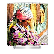 The Gypsy Shower Curtain