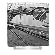 The H M Krentz Shower Curtain