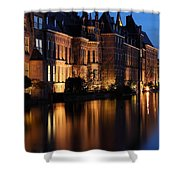The Hague By Night Shower Curtain