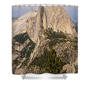 The Half Dome Shower Curtain