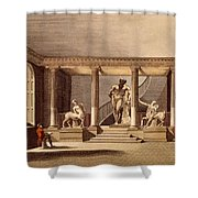 The Hall At The Royal Academy, Somerset Shower Curtain