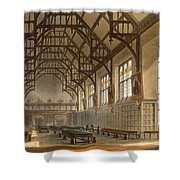 The Hall Of Trinity College, Cambridge Shower Curtain