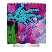The Hand Of Frankenstein Shower Curtain