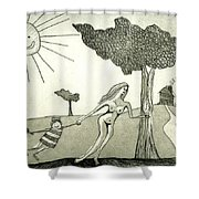 The Hands Of Time Shower Curtain