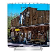 The Hanging - Apache Country Shower Curtain