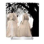 The Hanging Brides  Shower Curtain